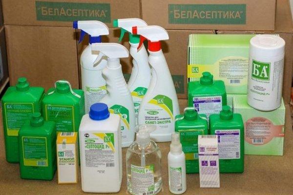 Дезинфекция против коронавируса