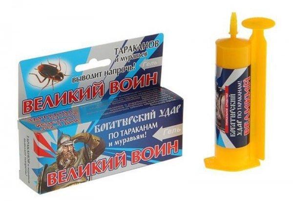 Гели против тараканов: убивают наповал