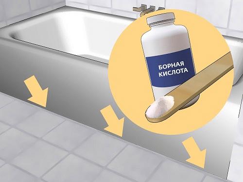 Как бороться с мокрицами в ванной комнате